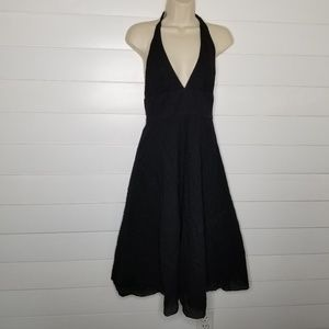 J.Crew Textured Cotton Halter Dress 4